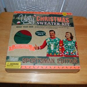 "Sweaters - Ugly Christmas Sweater Kit ""Sportsman Edition"" NIB"